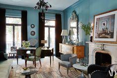 The Elegant New York Townhouse Of Monique Gibson #MoniqueGibson #InteriorDesigner #TopDesigners #LuxuryDesign #NewYork #Design #Luxury #Designer http://www.bestinteriordesigners.eu/the-elegant-new-york-townhouse-of-monique-gibson/