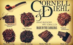 Cornell & Diehl is one of the most heralded pipe tobacco manufacturers in the United States.