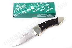 Hubertus Ebony Back Lock Pocket Knife