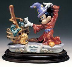 Laurenz Disney Mickey Mouse in Fantasia Enzo Arzenton Released 1986