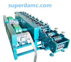 Metal square pipe & rectangle pipe roll forming machine