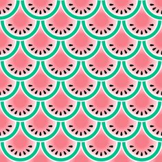 Sandías fabric by pennycandy on Spoonflower - custom fabric