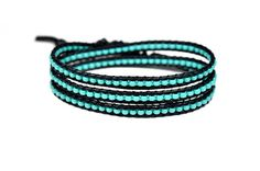 Hey, I found this really awesome Etsy listing at https://www.etsy.com/uk/listing/533387166/turquoise-wrap-bracelet-beaded-wrap