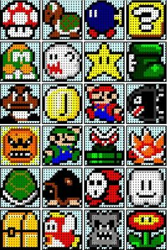 The Recipe Bunny: Super Mario Quilt