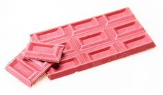 oh heck i remember this! pink chocolate! not something i ever liked.