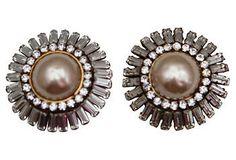 Brilliant Baubles Chanel Rhinestone Earrings $3,000/499
