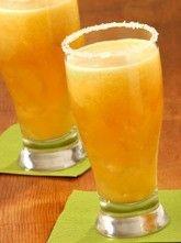 Mango Michelada combines sweetness of mango with a beer. #beer #alcoholic #beverage #recipe