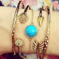 Gorgeous! Bracelets by Stella & Dot www.stelladot.com/melaniemm