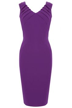 This is a subtle dress that doesn't rely on prints or embellishment, but instead uses clever techniques and textures to create eye catching detail. The Contour Dress has a flattering v-neckline and matching back which creates an interesting feature, unusual in regular fitted styles. Embellish to taste with necklaces or a wrap, this is a gorgeous dress that hits the perfect length while displaying your arms.
