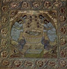 Художественное шитье древней Руси из собрания Загорского музея
