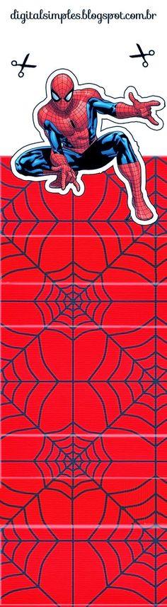 Spiderman Free Printable Original Nuggets Wrappers.