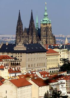 Czech Republic, Cathedral, Building, Prague, Buildings, Cathedrals, Bohemia, Construction