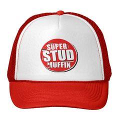 super stud muffin trucker hat