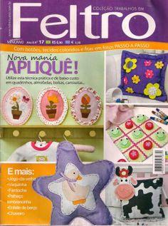 Revista de feltro gratis