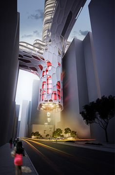 Night Club Hotel: #arquitectura parasitaria en Hong Kong
