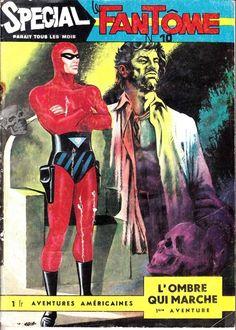 Spécial le fantome L'ombre qui marche est un album de bande dessinée ou comics, édité par les éditions EDITIONS DES REMPARTS - Comics-France.com