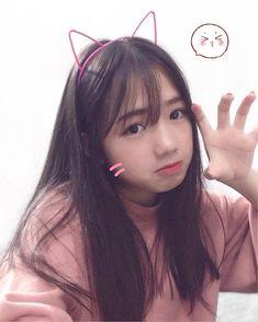 Cute Japanese Girl, Cute Korean Girl, Cute Asian Girls, Sweet Girls, Cute Girls, Cool Girl, Uzzlang Girl, Hey Girl, Girl Pictures