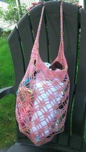 Make It Crochet | Your Daily Dose of Crochet Beauty | Free Crochet Pattern: Precious Gem Market Bag