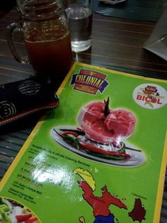 Dine-in @ Colonial in Bicol, Naga... lets see.... 😊