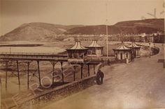 """1860s ABERYSTWYTH Wales - The original Victoria Pier - Albumen Photo 6"""" by 4"""" in Collectables, Photographic Images, Antique (Pre-1940)   eBay"""