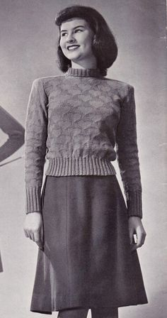 Free 1940s knitting pattern