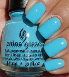 China Glaze Capacity To See Beyond // @kelliegonzoblog
