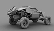 Highly Detailed model of Nitto Dune Buggy with even the smallest of details. Modeled in Max & rendered with Scanline renderer. Jeep, Off Road Buggy, Trophy Truck, Atv Accessories, Sand Rail, Kit Cars, Go Kart, Cars And Motorcycles, Offroad