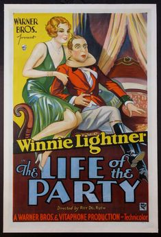 THE LIFE OF THE PARTY  (1930)  Original one sheet size, 27x41 movie poster.