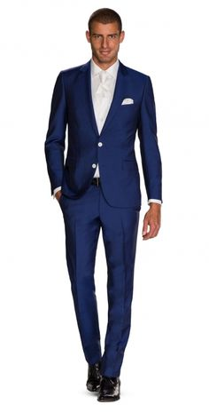 Blauw Kostuum   Collectie Trouwpakken   ROKA