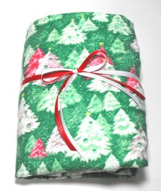 Christmas Flannel Fitted Sheet Baby Crib or Toddler by KidsSheets, $24.00