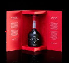 LUIS FELIPE Brandy Gran Reserva | Packaging - John Appleman #packaging #brandy #design