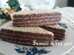 Napolitane cu crema de ciocolata – Savoare si Bun Gust Cake, Desserts, Food, Cream, Tailgate Desserts, Deserts, Food Cakes, Eten, Cakes