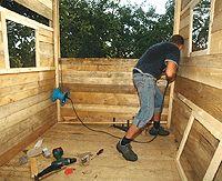 baumhaus bauen tipps bauanleitung zum selber bauen anleitungen und selber machen. Black Bedroom Furniture Sets. Home Design Ideas