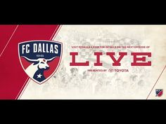 ICYMI: The inaugural edition of FC Dallas Live killed! Defender Walker Zimmerman joined Gina Miller to discuss what's going right on the pitch for this 1st place team, his experience playing for the men's U-23 men's national team AND he took your questions. Lots of good stuff here on the live, interactive broadcast on FCDallas.com.