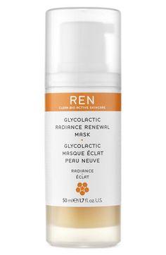 REN 'Radiance Renewal' Glycol Lactic Mask | Nordstrom