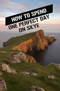 Perfect day on Skye, Scotland