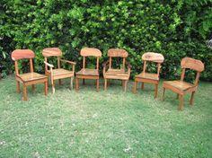 Chairs - Kini @ WoodWorkingHawaii 808-227-9473