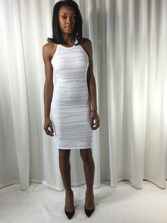 OBSESSED!!!!! with Bless'ed Are The Meek Ivory Lunar dress! JUST IN. Fits like a glove, Spring Time Sexiness. Available at Polished & Primped ATL