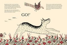 The Great Race: An Exquisite Tale of Forest Creatures Illustrated in the Style of Indian Folk Art | Brain Pickings