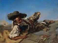 Frank Buchser - Spanish tramp