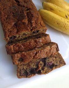 Wat eet je dan wel? - Vegan bananenbrood met blauwe bessen
