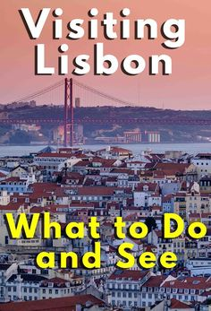 Your guide to Lisbon in Portugal! Tips on where to go, sleep, eat, sing, dance and where to get some of the best views of the city :) Portugal Vacation, Portugal Travel, Spain Travel, Portugal Trip, Cool Places To Visit, Places To Travel, Travel Destinations, Places To Go, Visit Portugal