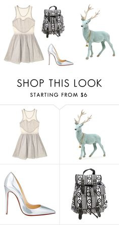 """Untitled #13476"" by jayda365 ❤ liked on Polyvore featuring Timo Weiland, Christian Louboutin and Wet Seal"