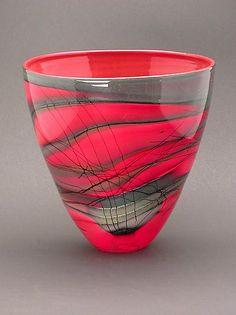 Kimono Series Bowl: Steven Main: Art Glass Bowl - Artful Home Art Of Glass, Glass Artwork, Stained Glass Art, Fused Glass, Glass Vessel, Glass Ceramic, Ceramic Art, Small Art, Glass Design