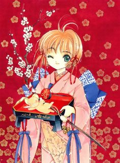 CLAMP, Cardcaptor Sakura, Cardcaptor Sakura Illustrations Collection 1, Sakura Kinomoto, Keroberos