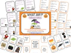 What am I Halloween Edition, A Describing Game | Queen's Speech, Plus giving away 2 copies!! Enter to win!