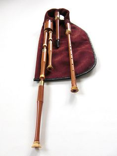 Scottish Small Pipes made of plum wood by T. Sonoda, Bayern, DE | Flickr - Photo Sharing!