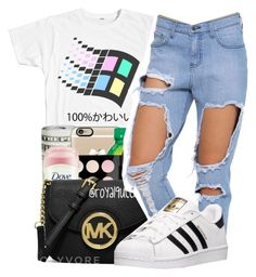 """""""Cold like Minnesota❄"""" by maiyaxbabyyy ❤ liked on Polyvore featuring adidas"""
