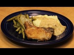 Pork Chops with Gravy - YouTube