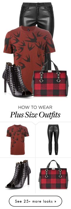 """Untitled #11834"" by nanette-253 on Polyvore featuring Dsquared2 and Lanvin"